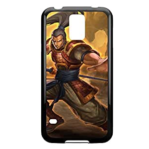 XinZhao-002 League of Legends LoL For Case Samsung Galaxy S4 I9500 Cover - Plastic Black