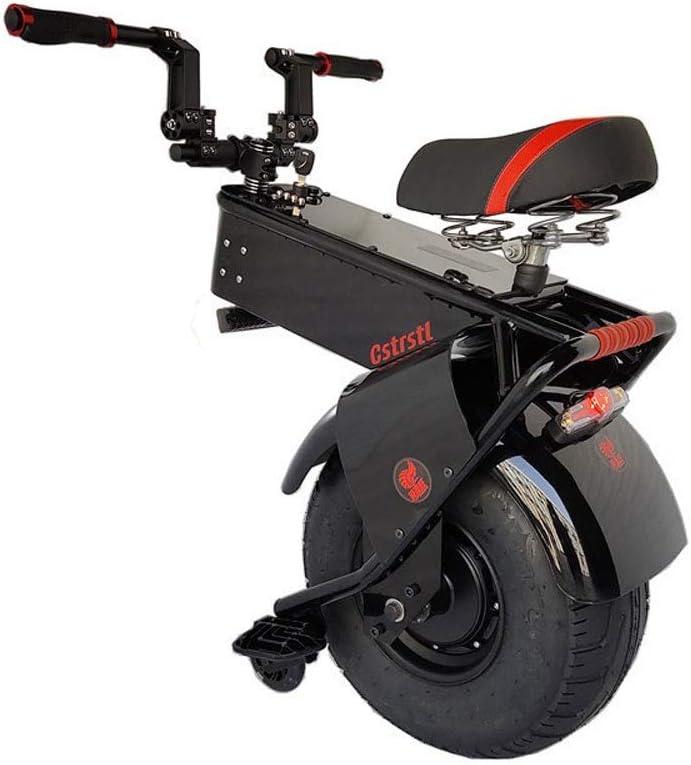 Monociclo Scooter Eléctrico Potente Scooter Eléctrico 1500W 60V Una Rueda Autobalanceo Scooters Grandes Neumáticos De La Motocicleta Eléctrica Monociclo Scooter Adultos 2020 (Size : 28KM)