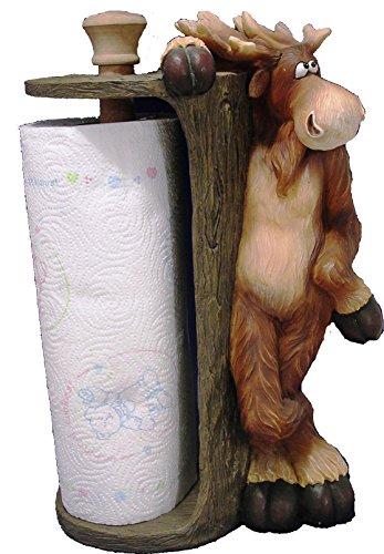 Wildlife Creations Moose Paper Towel Holder