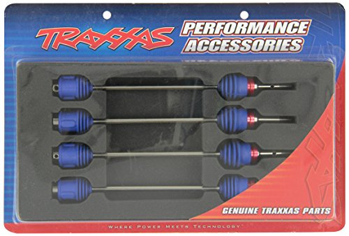Traxxas 5451R Revo Maxx Steel CV Driveshafts (Assembled with Boots)