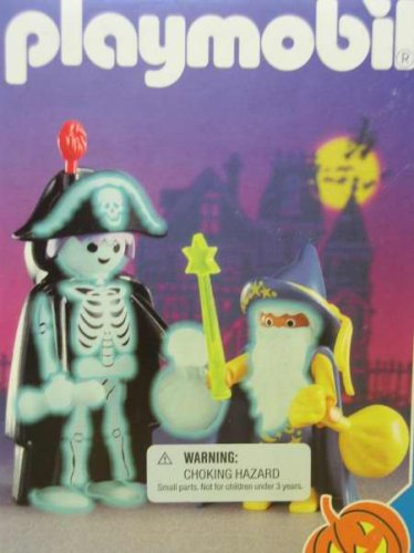 Playmobil 3025 Skeleton and Wizard Halloween -