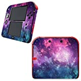 #6: UUShop Skin Sticker Vinyl Decal Cover for Nintendo 2DS System Console - Nebular