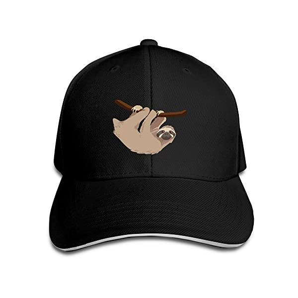 Travel Sloth'S Gym Sandwich Cap For Mens -