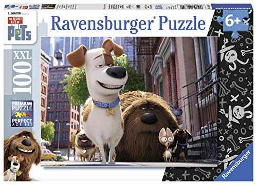 (Ravensburger The Secret Life of Pets 100 Piece Jigsaw Puzzle for Kids - Every Piece is Unique, Pieces Fit Together Perfectly)