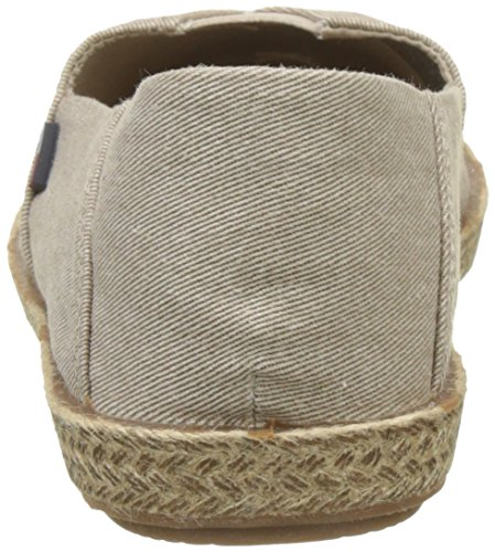 Hilfiger Denim Damen Flexible Casual Slip on Espadrilles Beige (Nude 003)