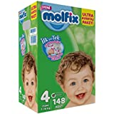 Molfix Bebek Bezi Ultra Avantaj Paketi 4 No 148 li