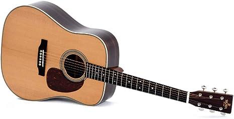 Guitarra Acústica/Electroacústica Sigma DT-28H E+: Amazon.es ...