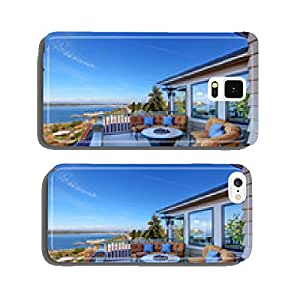 Cozy patio area with Puget Sound view. Tacoma, WA cell phone cover case iPhone6