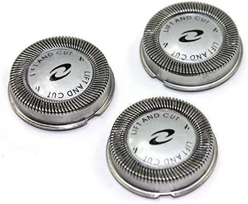 Beastgeek HQ56 philips norelco HQ56 Replacement Shaving Heads HQ56 for philips norelco shavers(Triple Pack Rotary Cutting Heads),Fits HQ900 Series, Fits 69_XL, 69_LC Model(3 Pack)