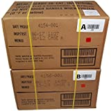 ULTIMATE MRE Case A and Case B Bundle, 24 Meals with 2017 Inspection Date. Military Surplus Meal Ready to Eat with Western Frontier's Inspection and Guarantee.