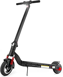"ROCKETX 8"" Electric Kick Scooter 350W Motor with Shock Absorbers, Up to 13 Miles Range, Commuting Scooter"