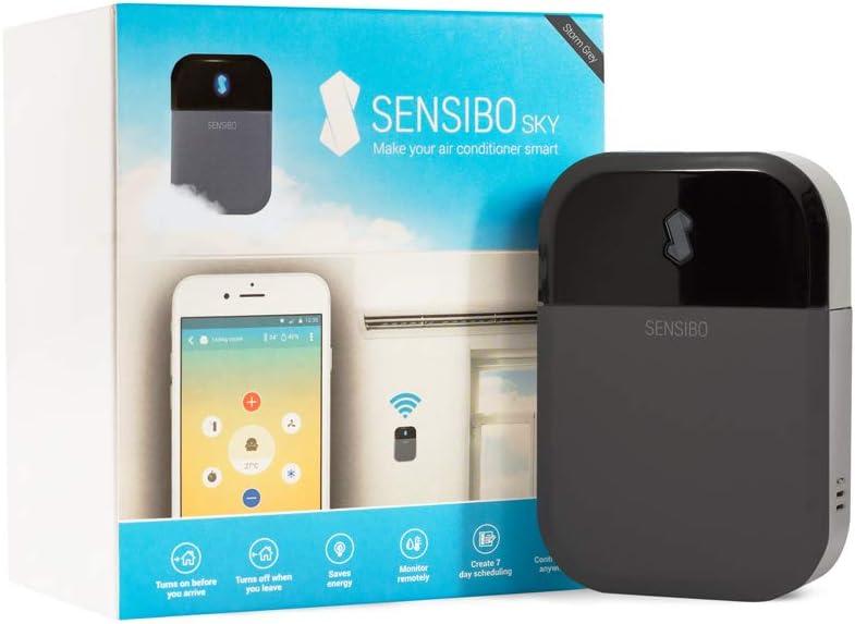 Sensibo Sky, Controller per Climatizzatore, Wi-Fi, Compatibile con iOS e Android, controllabile con Amazon Alexa e Google Home