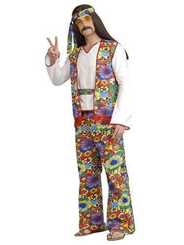 [Forum Novelties60s Hippie Dippie Man Adult Halloween Costume Size X-large (Xl)] (Hippie Dippie Adult Mens Costumes)