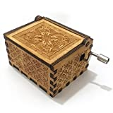 "Personalizable ""Harry..."" Engraved Wooden Music Box Decorative Box best for Xmas Gifts"