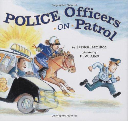 Police Officers on Patrol - City Hamilton Kids