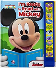Disney Mickey Mouse Clubhouse - I'm Ready to Read With Mickey - Play-a-Sound - PI