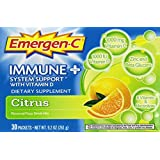 Emergen-C Immune + Citrus 30 Count, 0.31 Oz each, Net WT 9.3 Oz.