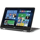 2018 Premium Dell Inspiron 17.3 2-in-1 FHD IPS Touchscreen Laptop - Intel Dual-Core i7-7500U 2.7GHz, 16GB DDR4, 512GB SSD, 2GB NVIDIA GeForce 940MX, Backlit Keyboard, MaxxAudio, WLAN, Webcam, Win 10