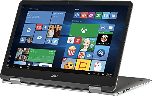 2018 Premium Dell Inspiron 17.3″ 2-in-1 FHD IPS Touchscreen Laptop – Intel Dual-Core i7-7500U 2.7GHz, 16GB DDR4, 512GB SSD, 2GB NVIDIA GeForce 940MX, Backlit Keyboard, MaxxAudio, WLAN, Webcam, Win 10