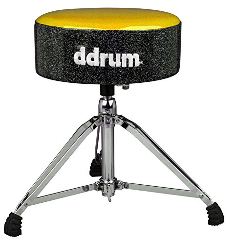 ddrum MFAT GB Mercury Fat Throne, Gold - Drum Ddrum Thrones
