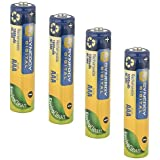 Panasonic HHR-4DPA/2B Cordless Phone Battery Ni-MH, 1.2 Volt, 1000 mAh - Ultra Hi-Capacity - Replacement of Pack of 4 AAA Batteries