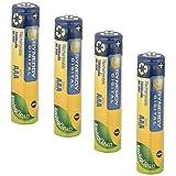 Panasonic HHR-4DPA/2B Cordless Phone Battery Ni-MH, 1.2 Volt, 1000 mAh - Ultra Hi-Capacity - Replacement of Pack of 4 AAA Batteries
