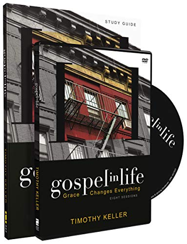 Gospel in Life Discussion Guide with DVD: Grace Changes Everything (Tim Keller Gospel In Life Study Guide)