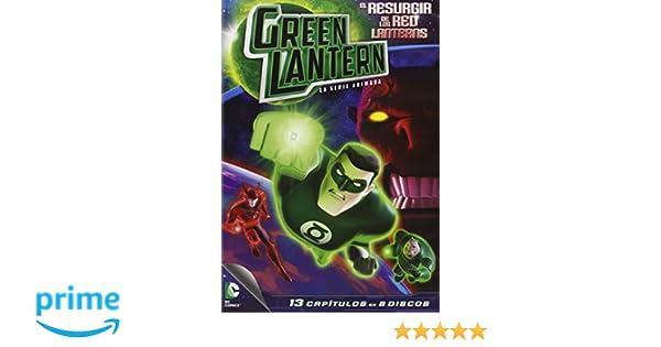 Green Lantern: El Resurgir De Los Red Lanterns [DVD]: Amazon ...