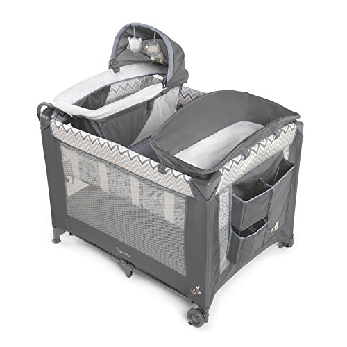 Ingenuity Smart and Simple Packable Portable Playard with Changing Table - Braden