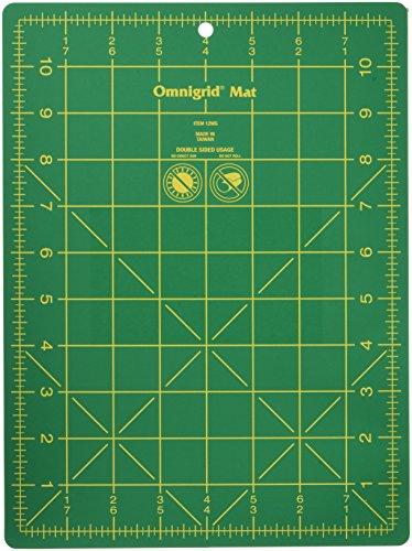 Omnigrid Mat (Omnigrid 8-3/4-Inch by 11-3/4-Inch Gridded Mat)