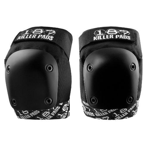 187 Killer Pro Knee Pads, X-Large, Black / Black by 187 Killer Pads (Image #5)