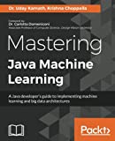 img - for Mastering Java Machine Learning: A Java developer's guide to implementing machine learning and big data architectures book / textbook / text book