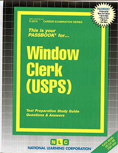 Window Clerk (USPS)(Passbooks) (Career Examination Series)