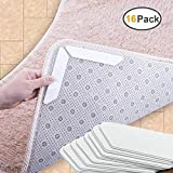OAMCEG Rug Gripper-16PCS Anti curling and Non Slip Rug Gripper, for Hardwood Floors,Carpet,Tile Floor,Keep Rug in Place and Make Corners Flat,Easy to Remove and Renewable