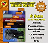 Science & Social Studies Flash Cards
