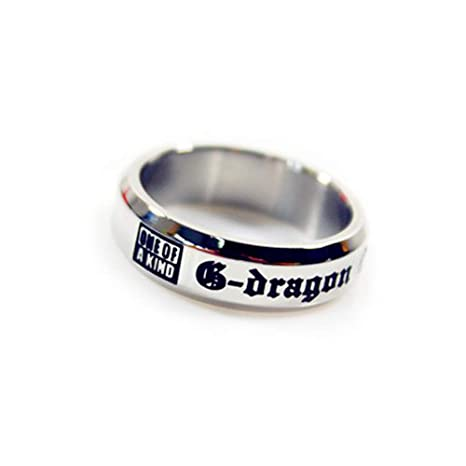 Fanstown G-dragon/G Dragon one of a kind ring GD&TOP(4 types) (Titanium 1)