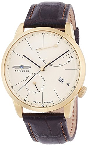 ZEPPELIN watch flat line Ivory dial automatic winding 73685 Men's [regular imported goods]