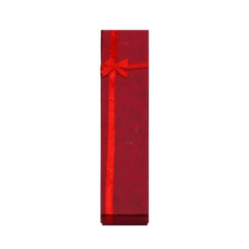 Omkuwl Bijoux collier bracelet présent bowknot présentoir boîte Violet