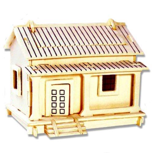 【ポイント10倍】 3 - D木製パズル – # 小さなWafuutaku建物 – B004QDXS56 Affordableギフトfor – your Little One。Item # dchi-wpz-ph002 B004QDXS56, Joy Assists Japan:083e8cf8 --- quiltersinfo.yarnslave.com