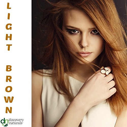 Amazon.com : Henna Maiden LIVELY LIGHT BROWN Hair Color: 100 ...