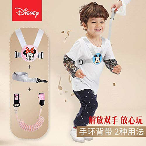 Disney Children Anti-Lost Baby Sling Traction Rope Bracelet Strap Anti Lost Artifact Slip Baby Safety Rope