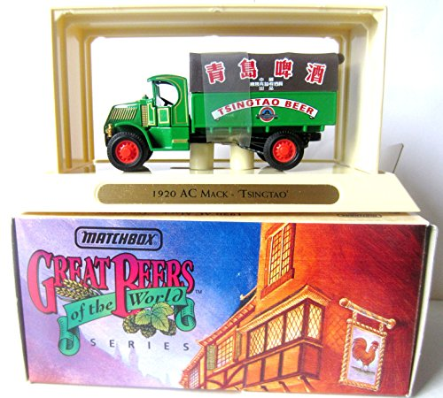 matchbox-great-beers-tsingtao-beer-1920-ac-mack-models-yesteryear-delivery-truck-ygb23-m-in-143-scal