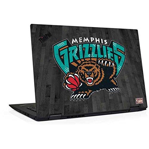 Skinit NBA Memphis Grizzlies Thinkpad X1 Yoga (3rd Gen, 2018) Skin - Memphis Grizzlies Hardwood Classics Design - Ultra Thin, Lightweight Vinyl Decal Protection (Light Memphis 3)