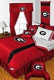 NCAA Georgia Bulldogs - Comforter Set - Queen and Full Size Bedding