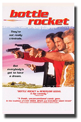 Bottle Rocket Poster Movie Promo 11 x 17 inches Owen Luke Wi