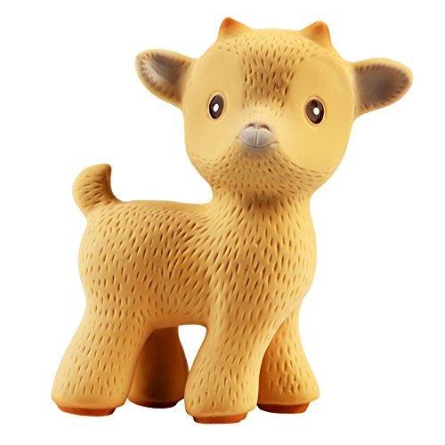 名作 CaaOcho Friends - Sola Sola the 100% Goat Teething Toy the (Tan) - 100% Pure Natural Rubber, BPA, PVC, phthalates Free ... by CaaOcho B01BZBG52Y, NK プロユース:80d367f7 --- a0267596.xsph.ru
