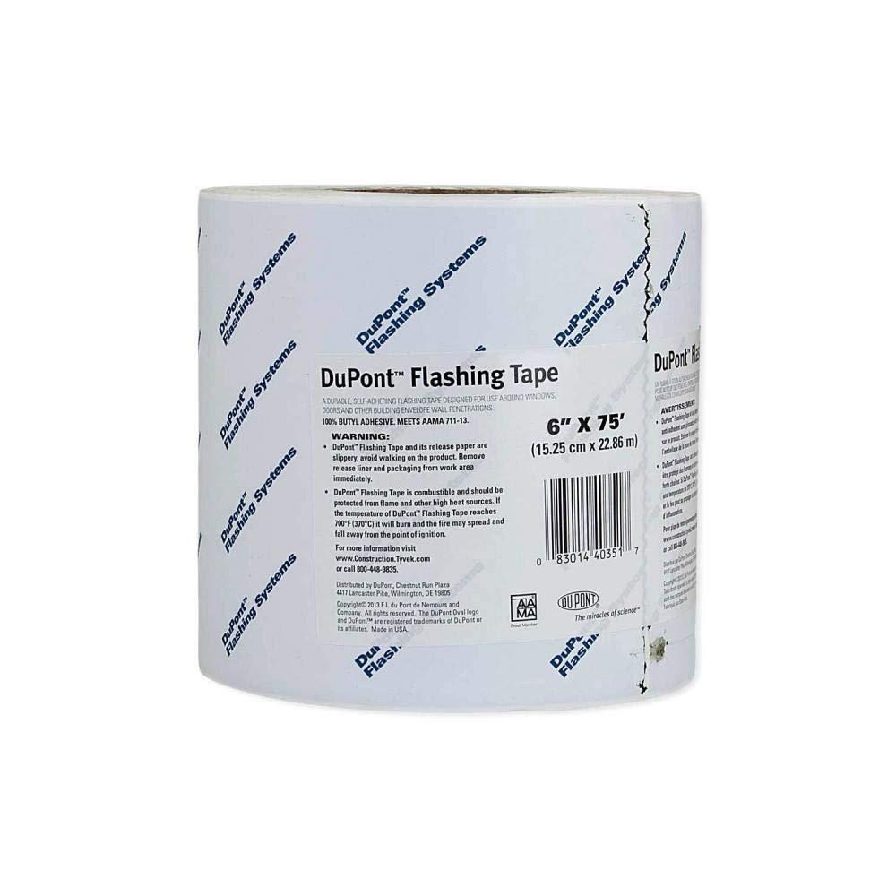 DuPont Tyvek Flashing Tape - 6'' x 75' - 1 Roll by DuPontTyvek