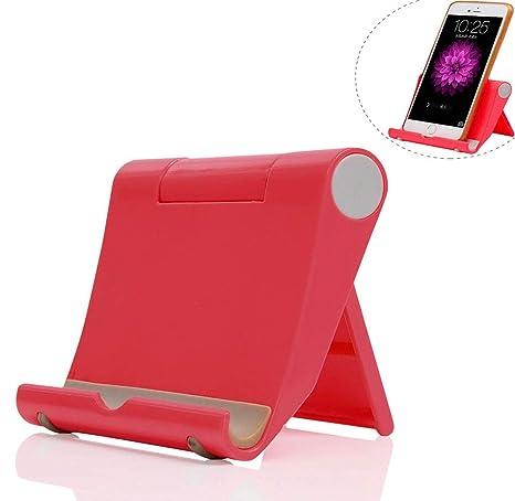 69584c9f85e Dosige Soporte Móvil Sobre la Mesa Soporte para iPad Tabletas iPhone 7/6  Plus/