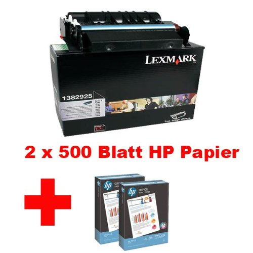 LEXMARK 1382925 BLACK TONER CARTRIDGE OPTRA (1650 Black Toner)