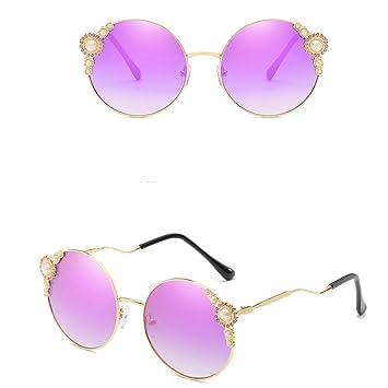 Hunpta@ - Gafas de Sol para Mujer, diseño Retro, Marco ...